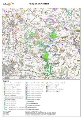 Rampisham context map