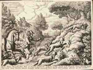Fox Hunting by Wenceslaus Hollar [Public domain], via Wikimedia Commons