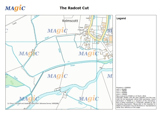 the radcot cut