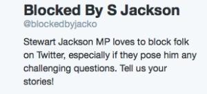 blocked by jacko